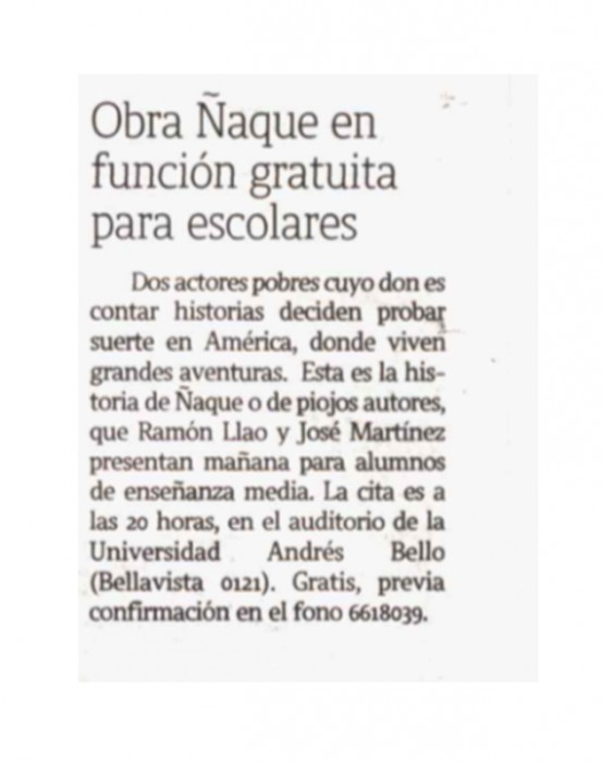 naque latercera