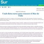 UNAB dicta curso para conocer el mar de Chile