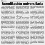 Acreditación universitaria