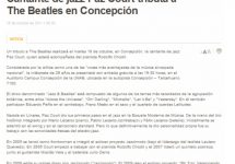 Cantante de jazz Paz Court tributa a The Beatles en Concepción