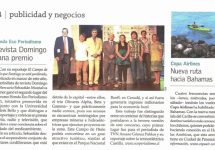 Revista Domingo El Mercurio: Revista Domingo gana premio