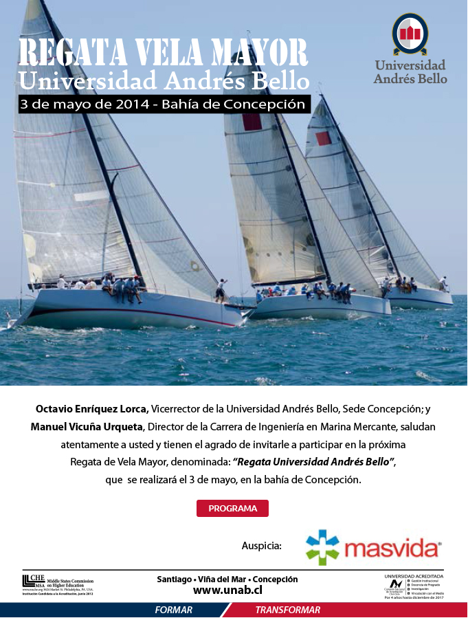 Invitación Regata