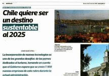 La Tercera | Chile quiere ser un destino sustentable al 2025