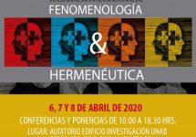 Especialistas internacionales llegan a UNAB para discutir sobre Fenomenología y Hermenéutica