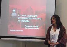Académicas de Enfermería UNAB exponen en II Congreso Latinoamericano de Cuidados Humanizados