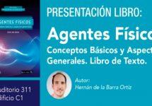 Académico de Kinesiología UNAB presenta el libro enfocado a fomentar el autoaprendizaje en el área de Agentes Físicos