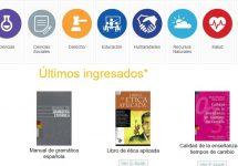 Conoce todos los recursos digitales que entrega la Biblioteca UNAB