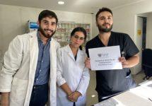 Académico y estudiantes de Química y Farmacia llevan medicamentos a domicilios para evitar que pacientes se contagien con Coronavirus