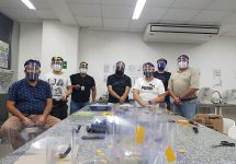 Chile necesita mascarillas: en la Sede Viña del Mar comenzaron a fabricarlas