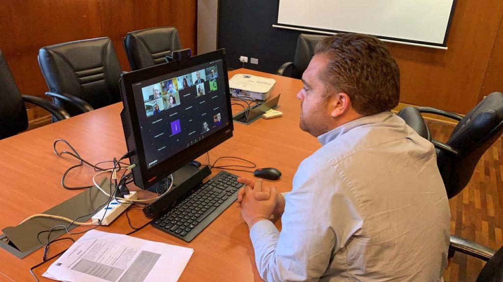 El intendente del Biobío se conectó con Unab y la comunidad para este lanzamiento