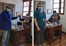 Una ayuda esencial obtuvo el Hospital El Peral gracias a protectores faciales donados por la UNAB