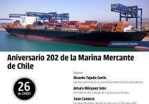 Marina Mercante Viña del Mar celebrará aniversario de la actividad con conversatorio online