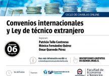 Convenios internacionales y Ley de Técnico Extranjero es la siguiente charla del ciclo organizado por la FEN