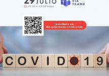 Expertos abordarán los Mitos y realidades sobre COVID-19 con un enfoque práctico y sencillo