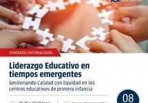 Realizan Seminario de Liderazgo Educativo en tiempos emergentes