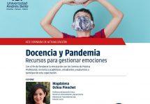 """Educación Física realizará la XIII Jornada de Actualización """"Docencia y Pandemia: Recursos para gestionar las emociones"""""""