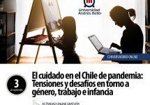 """Invitan a discutir sobre """"El cuidado en el Chile de pandemia: Tensiones y desafíos en torno a género, trabajo e infancia"""""""