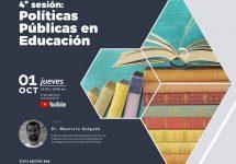 Invitan al Ciclo de Charlas Doctorado en Educación y Sociedad 4º sesión: Políticas Públicas en Educación