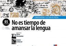 """Día Internacional del Libro: Conversatorio y lectura de poesía """"no es tiempo de amansar la lengua"""""""