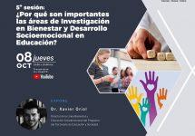 Académico experto en bullying y ciberbullying realizará charla sobre la investigación en bienestar y desarrollo socioemocional en educación