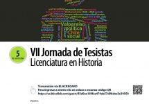 Licenciatura en Historia realizará la VII Jornada de Tesistas