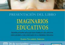 Libro sobre imaginarios educativos revela una mirada adultocéntrica en el aula