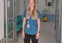 ORGULLO UNAB   Kinesióloga revela lo difícil que fue sentir el miedo de los pacientes durante la pandemia