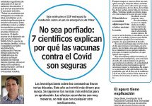 Las Últimas Noticias| No sea porfiado: 7 científicos explican por qué las vacunas contra el Covid son seguras