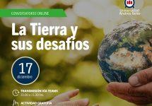 """Invitan al Conversatorio: """"La Tierra y sus desafíos"""""""