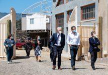"""Ministro de Ciencia en su visita al Campus Quintay: """"CIMARQ es un ejemplo de cómo se debe hacer ciencia en los territorios"""""""