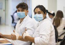 Estudiantes de Terapia Ocupacional retornaron a sus laboratorios de órtesis para actividades prácticas