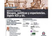 """Invitan al seminario: """"La """"anarquía"""" de la leche. Ciencia, calidades e infraestructuras alimentarias. Bogotá, 1930-1950"""""""