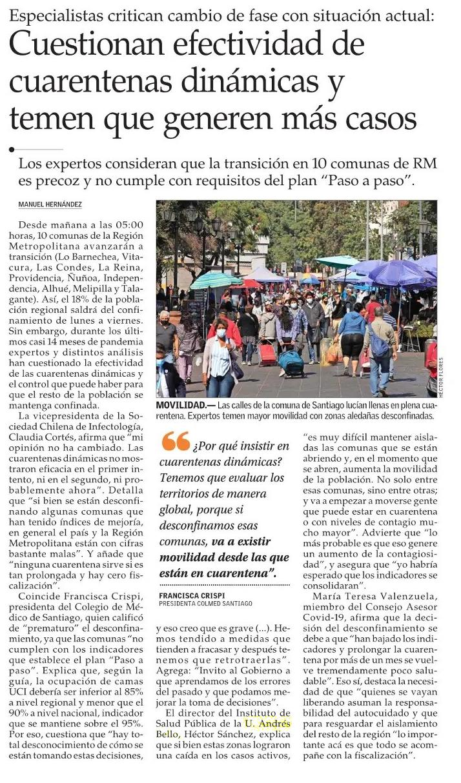 sanchez ElMercurio
