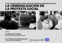 Derecho Penal Viña del Mar analizó la protesta social y su criminalización en seminario