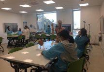 Profesores de la Sede Viña del Mar se capacitan para clases en salas HyFlex