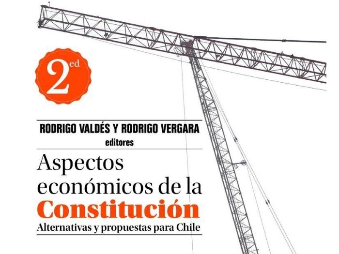 """Exministro Rodrigo Valdés presentó su libro """"Aspectos Económicos de la Constitución"""""""