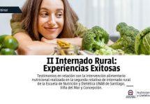 Nutrición y Dietética alista su II Webinar Internado Rural: Experiencias Exitosas