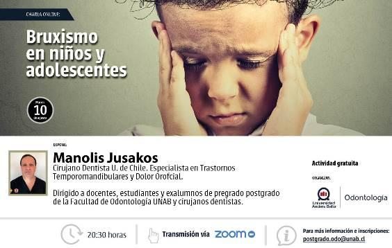 VOZ DEL EXPERTO | Bruxismo en niños y adolescentes puede estar asociado a trastornos respiratorios, uso de pantallas y consumo de azúcar