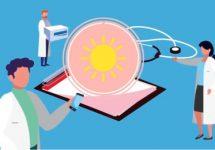 Estudiantes de Nutrición y Dietética brindaron información sobre Vitamina D al personal de salud de Clínica Indisa