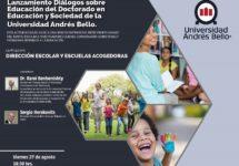 Doctorado en Educación y Sociedad invita al Lanzamiento Diálogos sobre Educación