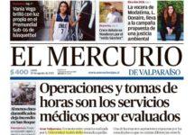 El Mercurio de Valparaíso|Operaciones y tomas de horas son los servicios peor evaluados