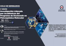 Sello Investigación| Científicas del Doctorado en Fisicoquímica Molecular presentaron sus trabajos