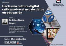 El Doctorado en Educación y Sociedad invita a discutir sobre el uso de datos en educación