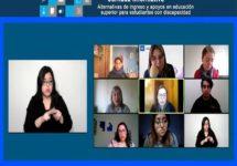 UNAB participó en conversatorio sobre acceso y apoyos en educación superior para estudiantes en situación de discapacidad
