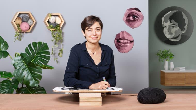 ORGULLO UNAB| Sara Luna, una artista textil que brilla internacionalmente