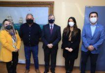 Comité Directivo de la Sede Viña del Mar se reunió con el Gobernador Regional de Valparaíso